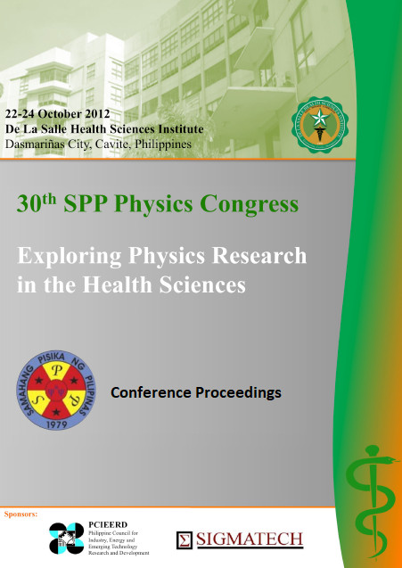 SPP 2012 Conference Proceedings cover