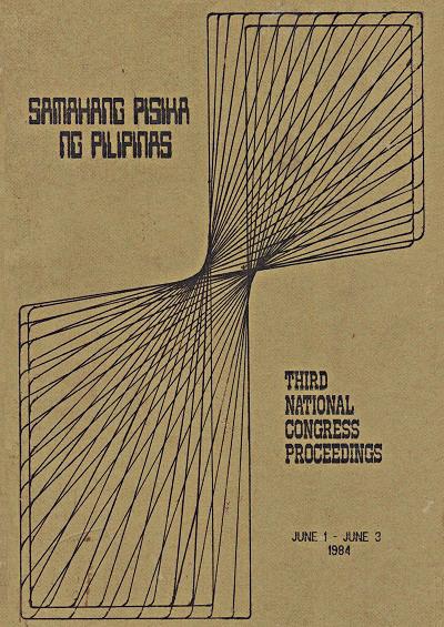 SPP 1984 Proceedings cover