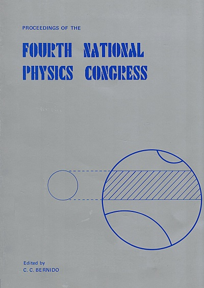 SPP 1985 Proceedings cover