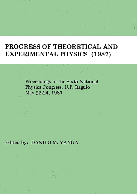 SPP 1987 Proceedings cover