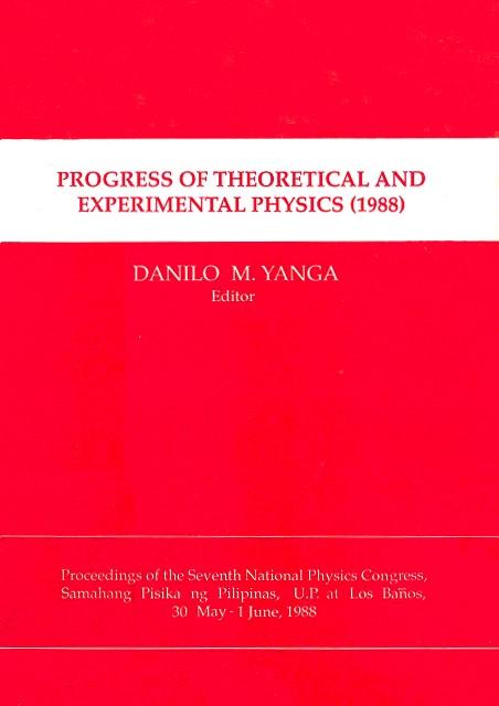SPP 1988 Proceedings cover
