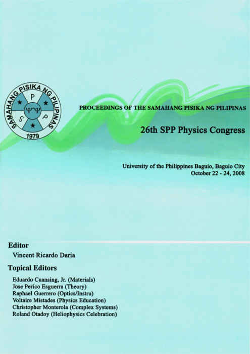SPP 2008 Proceedings Cover