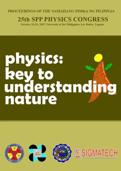 SPP 2007 Proceedings Cover