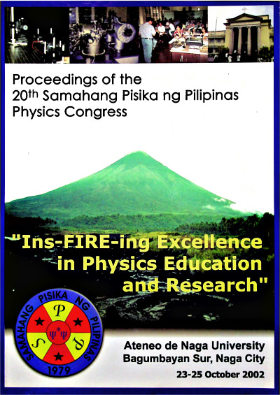 SPP 2002 Proceedings Cover