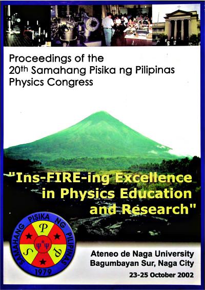 SPP 2002 Proceedings Cover