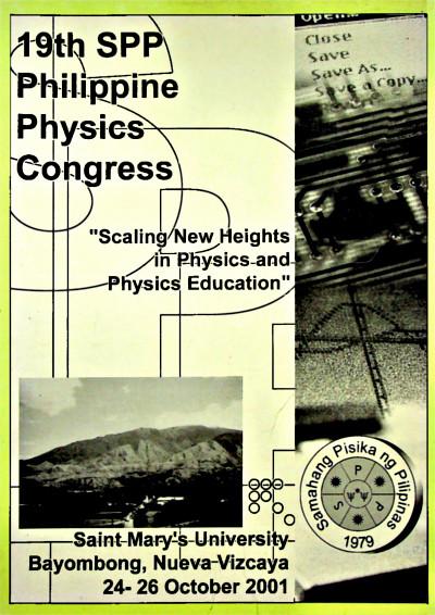 SPP 2001 Proceedings Cover