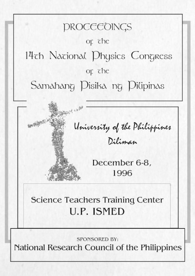 SPP 1996 Proceedings Cover