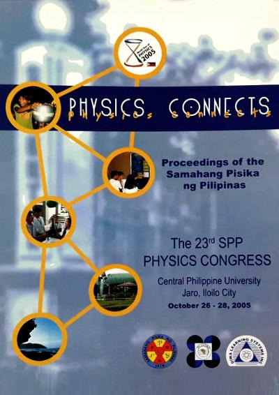 SPP 2005 Proceedings Cover
