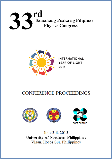 Proceedings 2015 SPP Cover